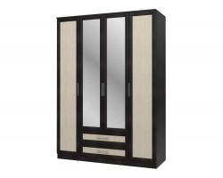 Шкаф 4-х дверный Юлианна