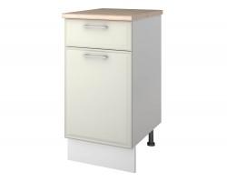 Шкаф напольный с ящиком Greta 40 см